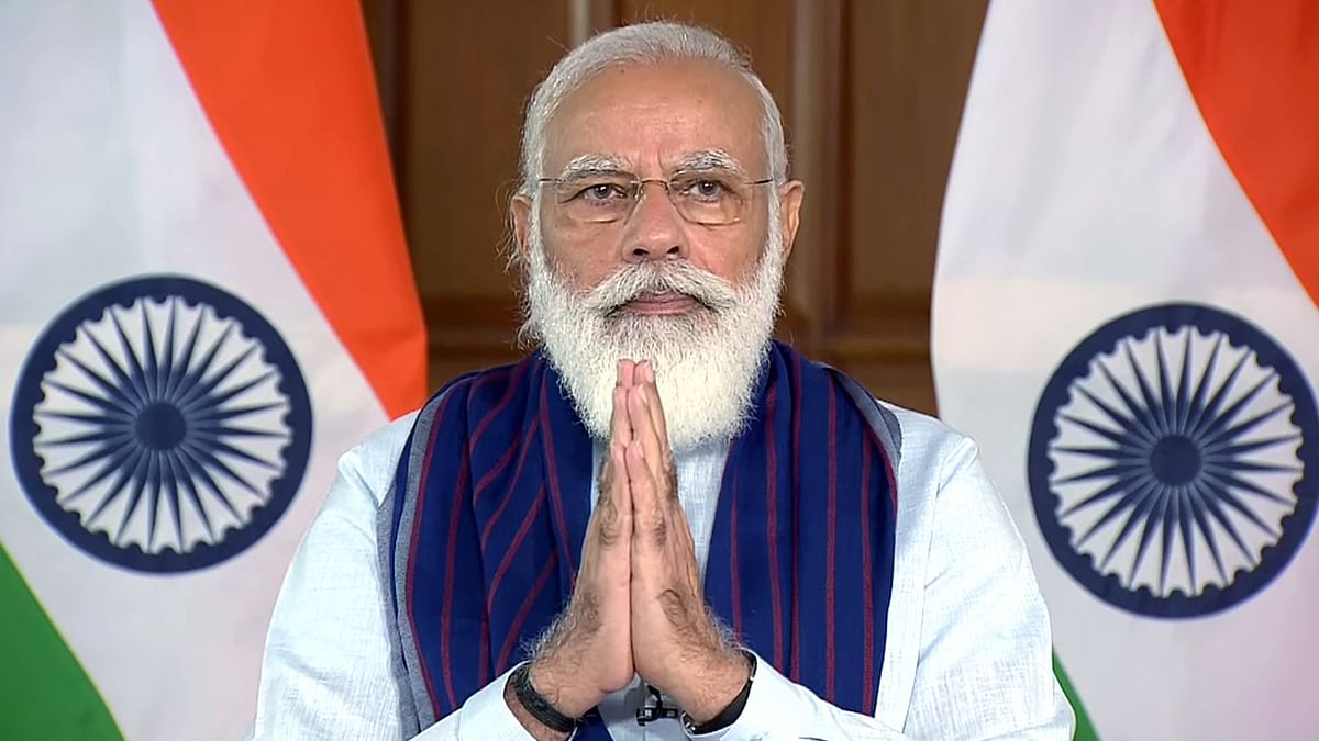 PM Modi inaugurates Rs 5,555 cr water projects in UP's Mirzapur, Sonbhadra