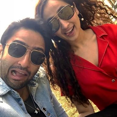 Shaheer Sheikh gets engaged to girlfriend Ruchikaa Kapoor, says 'excited for the rest of my life'