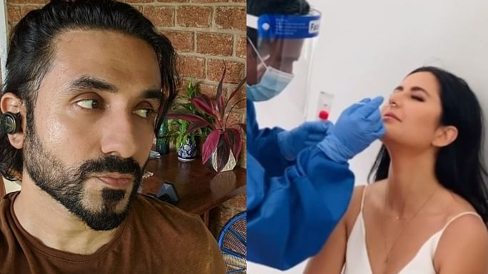 After Katrina Kaif's Instagram post, Vir Das lashes out at celebs for posting videos of COVID-19 test