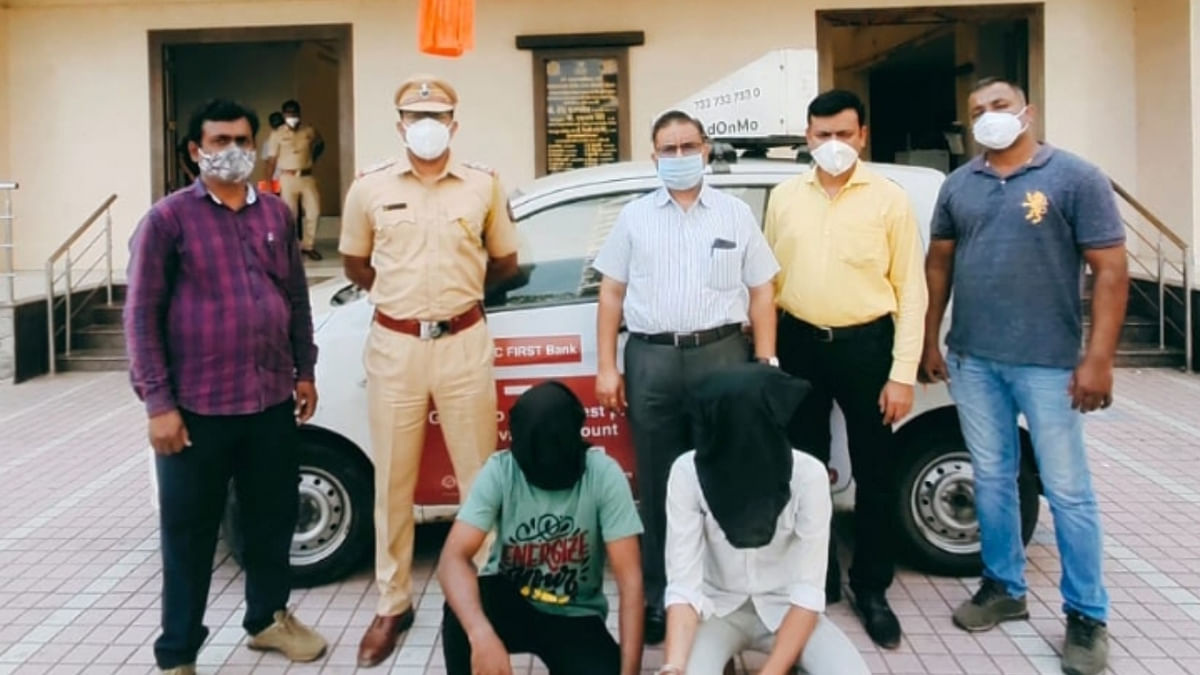 Mira Bhayandar: Cops arrest duo who used a cab for chain-snatching; hunt on to nab absconding accomplice