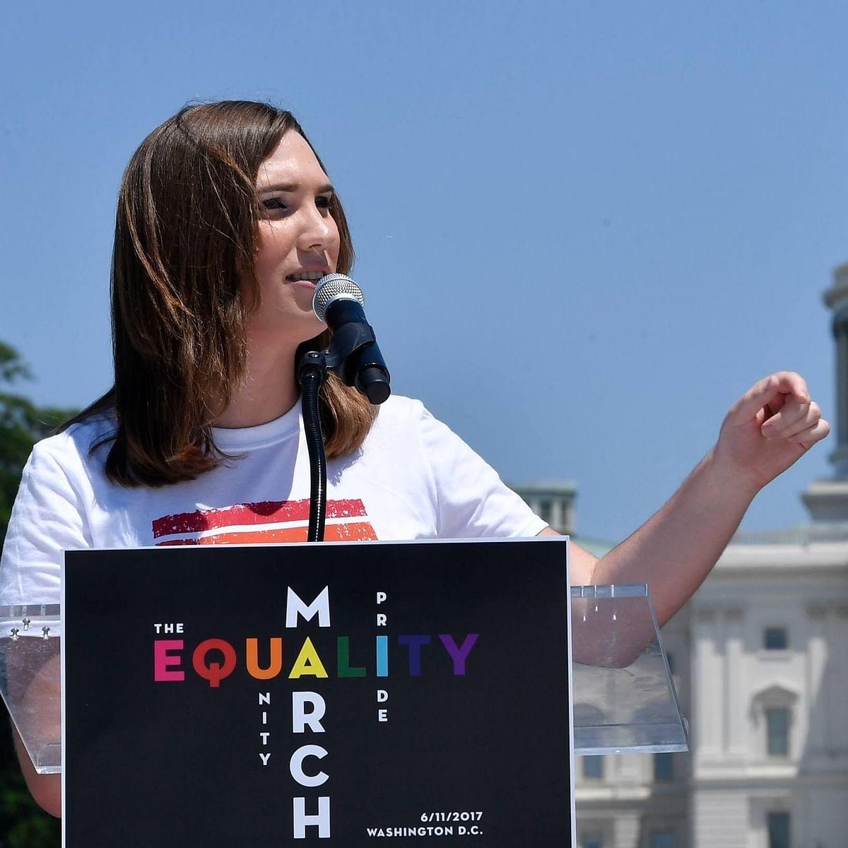 Democrat Sarah McBride becomes 1st transgender US state senator