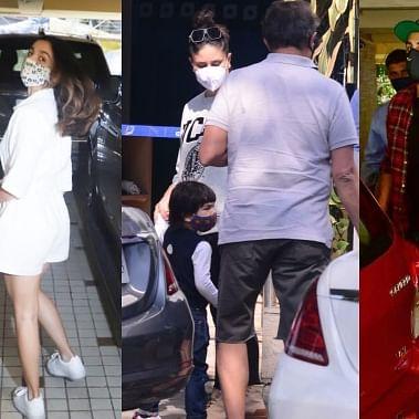 Celebrity Spotting: Kareena Kapoor, Taimur Ali Khan, Alia Bhatt and Ranbir Kapoor captured by shutterbugs