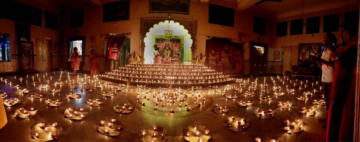 Chappan Bhog and celebrations at Venkatesh Temple