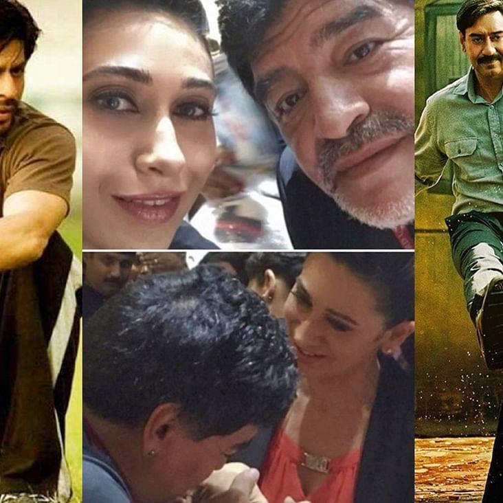 SRK, Ajy Devgn, Karisma Kapoor, and other celebs pay homage to football icon Diego Maradona
