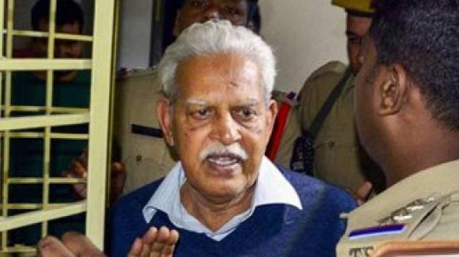 Varavara Rao admitted to Nanavati Hospital