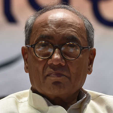 MP Bypoll Results: Digvijaya Singh points at 'selective tampering' of EVMs
