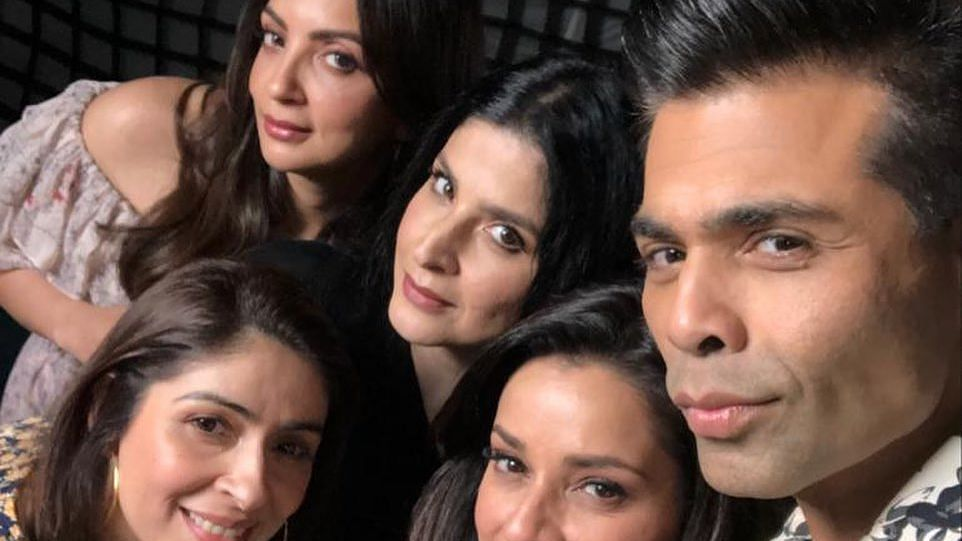 Check out Karan Johar's epic response to troll who called him 'favourite wife' from 'Fabulous Lives of Bollywood Wives'