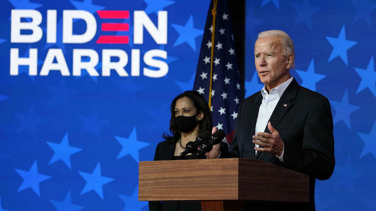 Equities end at record highs post Biden-Harris win