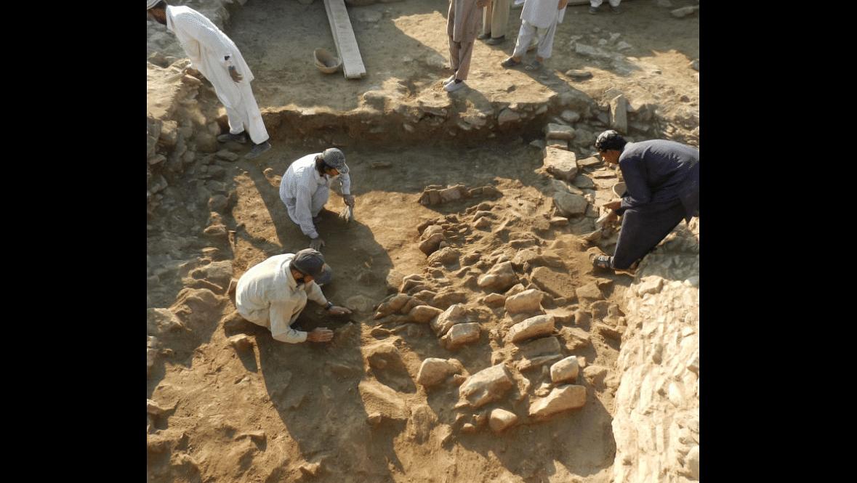 Excavation under way in Barikot