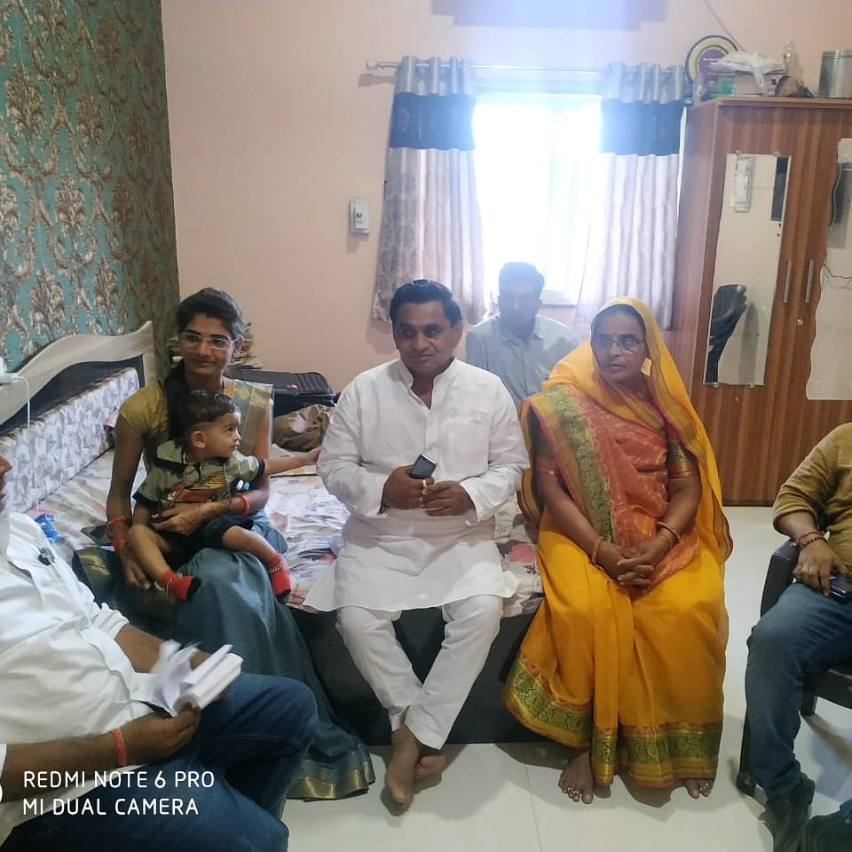 MP Bypolls: A day after polling, candidates spend time with family & workers