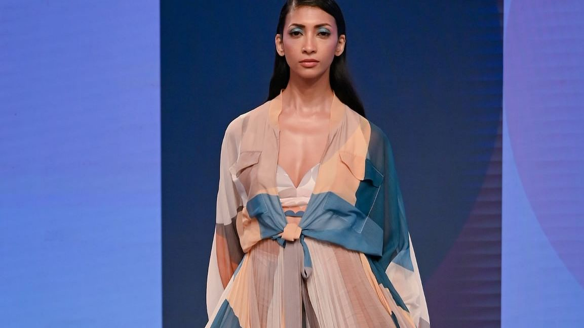 R|Elan presents Talisman collection by Pankaj And Nidhi Ahuja at Lakmé Fashion Week 2020