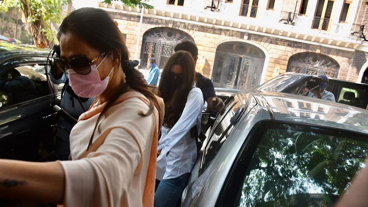 Watch: Arjun Rampal's GF Gabriella's lawyer loses calm over paparazzi outside NCB office