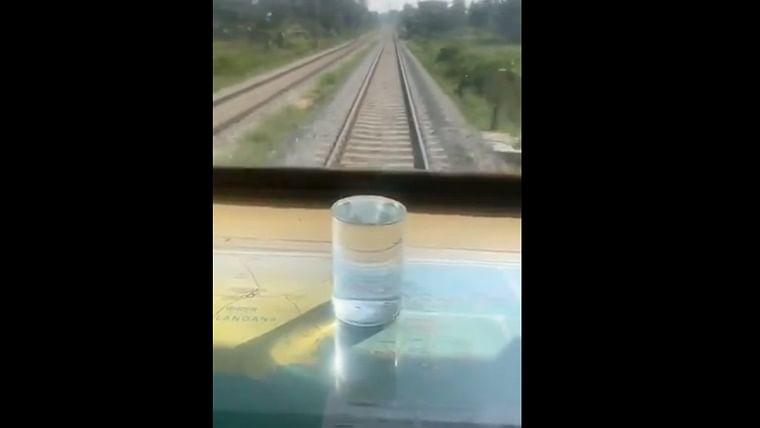 'Journey was so smooth': Piyush Goyal's water glass test on Bengaluru-Mysuru rail route