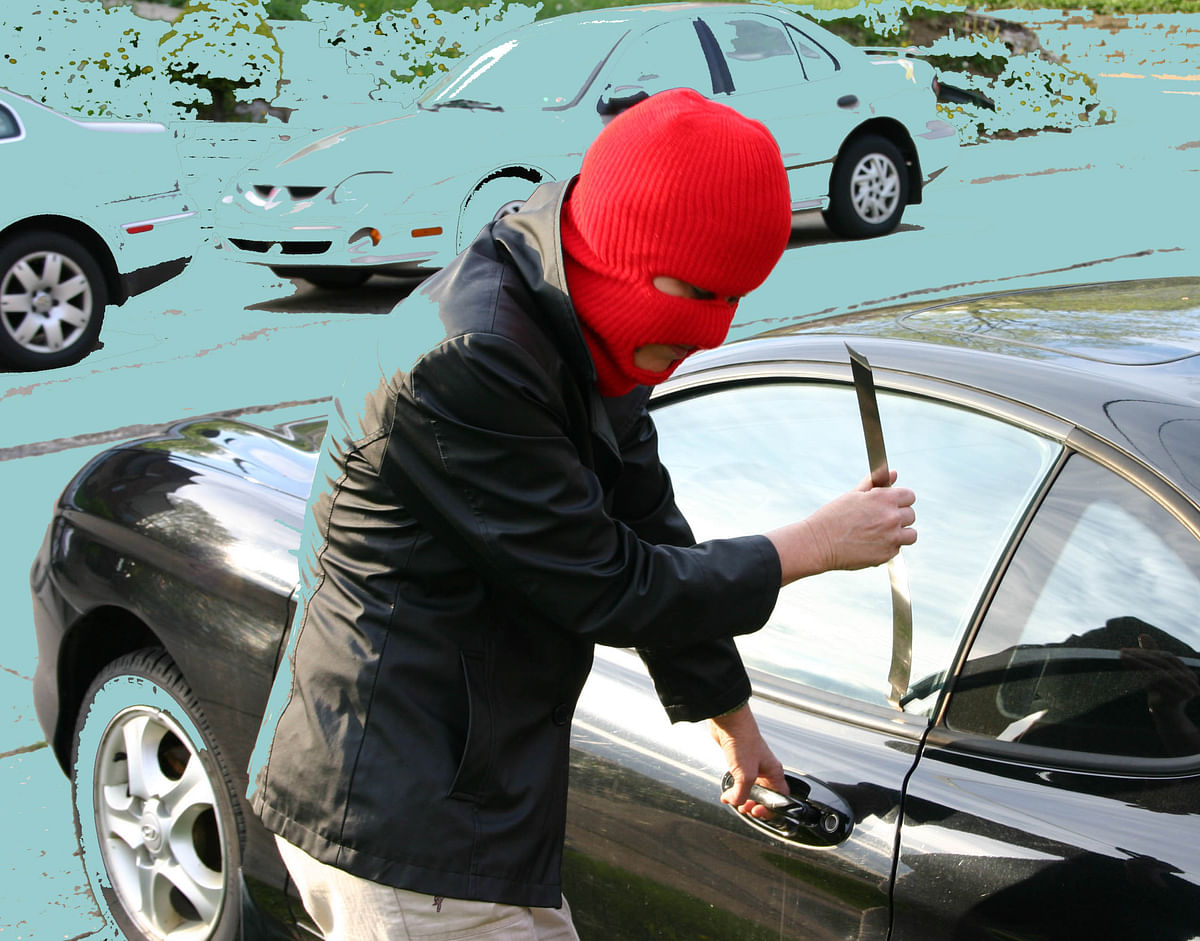 Rise in vehicle theft cases in city