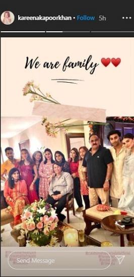 Kareena Kapoor Khan celebrates Karwa Chauth with family get-together; see pics