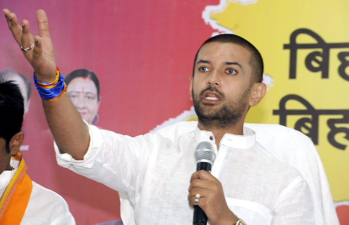 BJP made you Bihar Chief Minister: Chirag Paswan's jibe as Nitish Kumar swears-in
