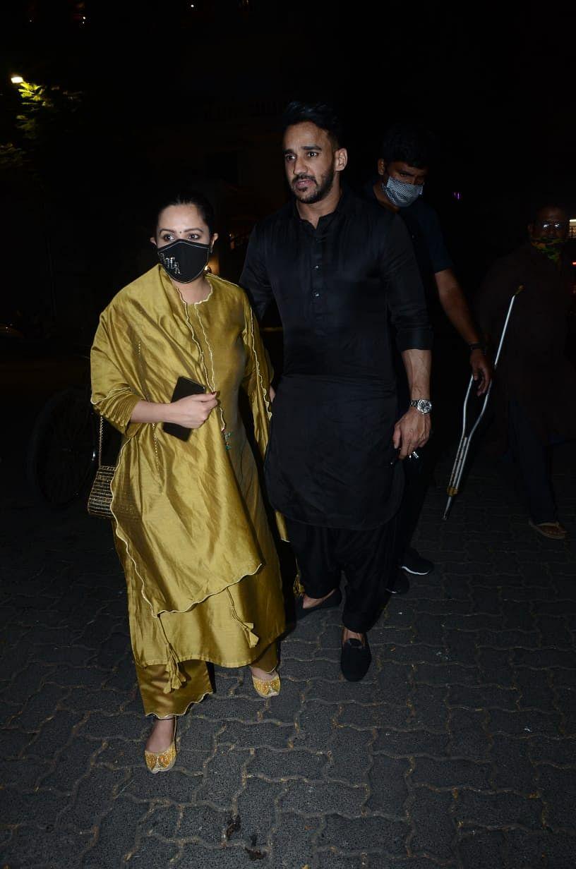 Anita Hassanandani with husband Rohit Reddy
