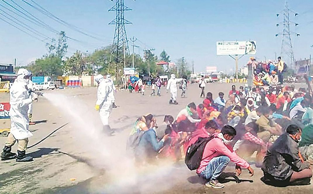 Spare humans of ultraviolet rays, disinfectants, SC tells govt