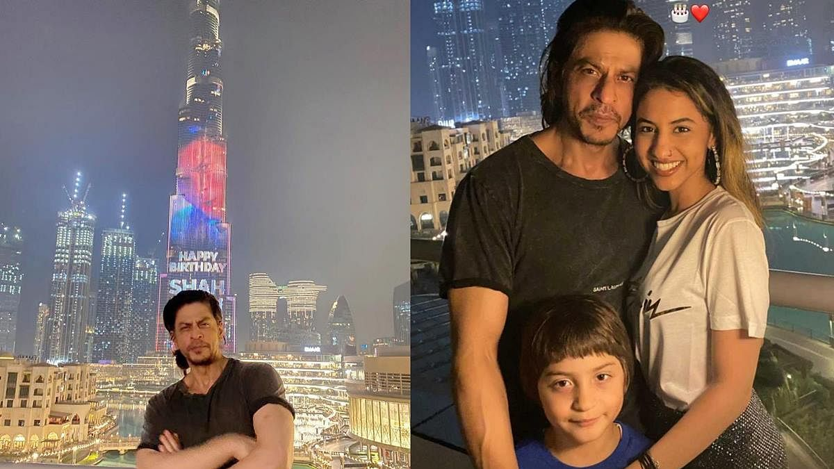 Watch Video: Burj Khalifa pays special tribute to Shah Rukh Khan on his 55th birthday