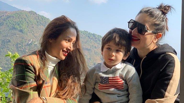 Malaika Arora soaks in the sun with Kareena Kapoor, Taimur Ali Khan during Dharamshala vacay