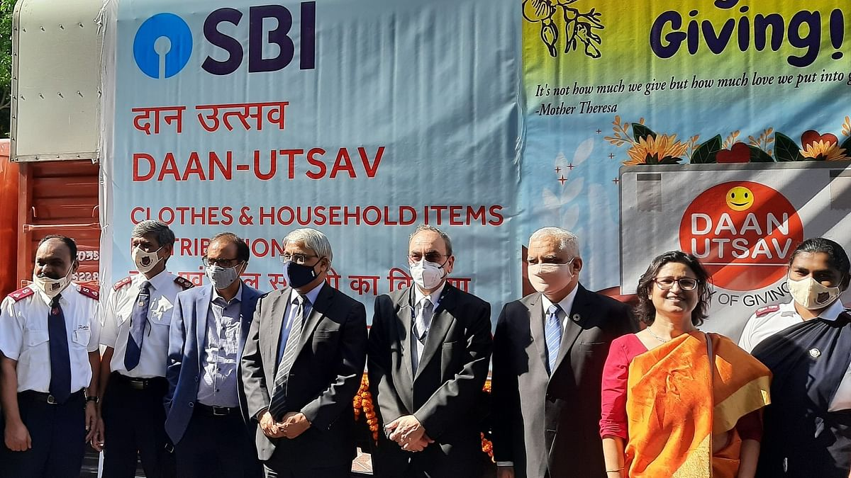 State Bank of India extends celebration for 'Joy of Giving' Festival