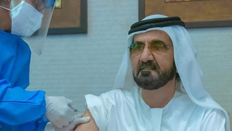 'Future will always be better in the UAE': UAE PM Sheikh Mohammed receives dose of COVID-19 vaccine