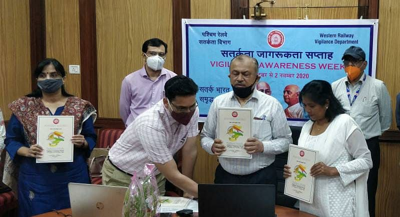 Western Railway observes Vigilance Awareness Week