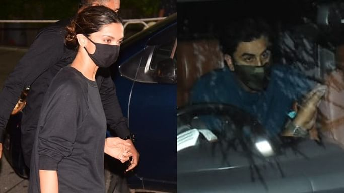 In Pics: Deepika, Ananya, Sidhant spotted at Gateway of India; Ranbir Kapoor arrives back in the bay