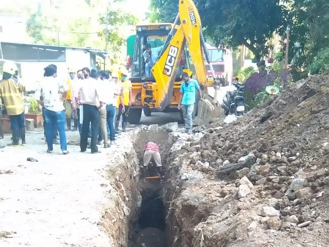 Gas pipeline damage in Thane affects 150 locals