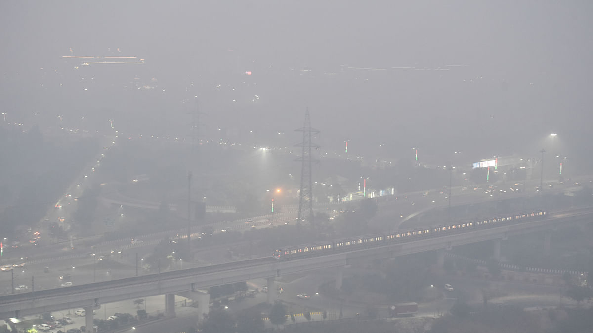 Delhi's air quality in 'severe' category, AQI recorded at 486