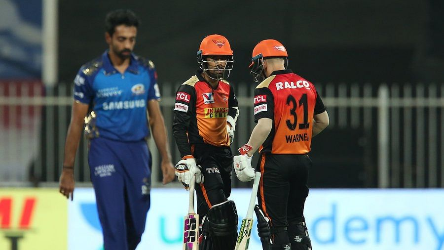IPL 2020: SRH storm into playoffs with 10-wicket win over MI