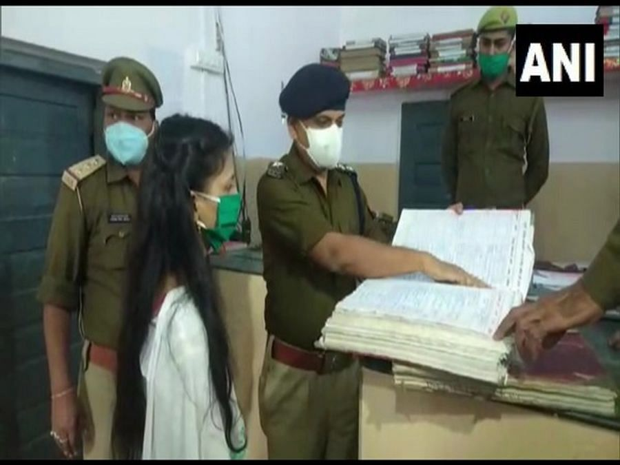 Class 9 girl made police station in-charge for a day on World Children's Day