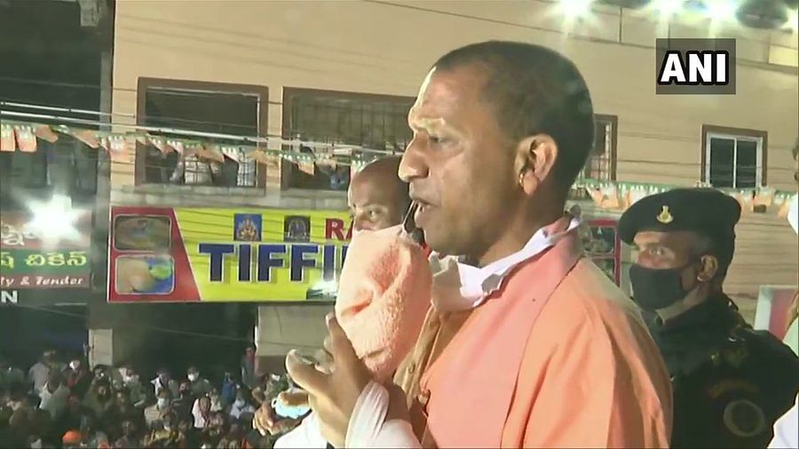 'We renamed Faizabad, Allahabad...': In Hyderabad to campaign for GHMC polls, Yogi Adityanath talks about renaming city