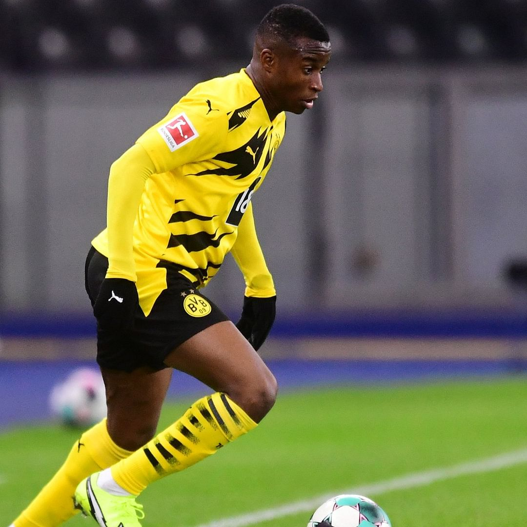 Dortmund's Youssoufa Moukoko becomes youngest player to make Bundesliga appearance