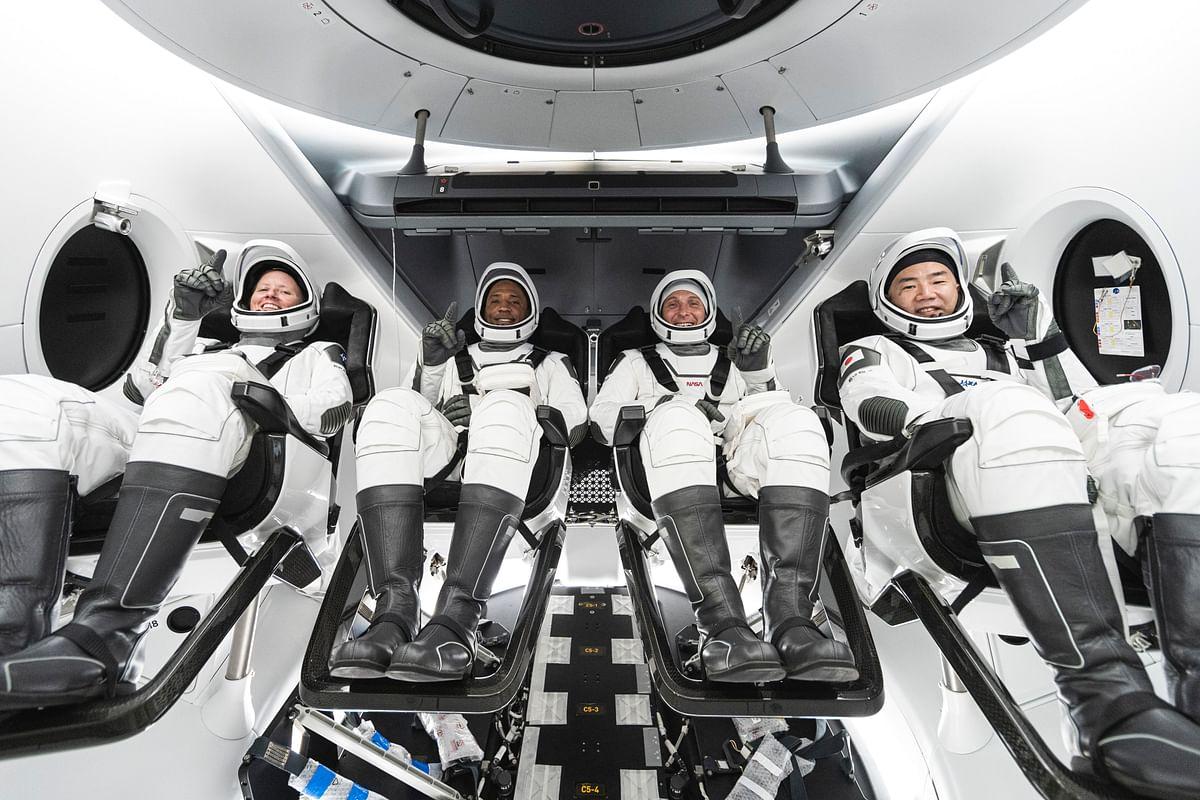 NASA's Crew-1 mission - inside SpaceX's Crew Dragon spacecraft