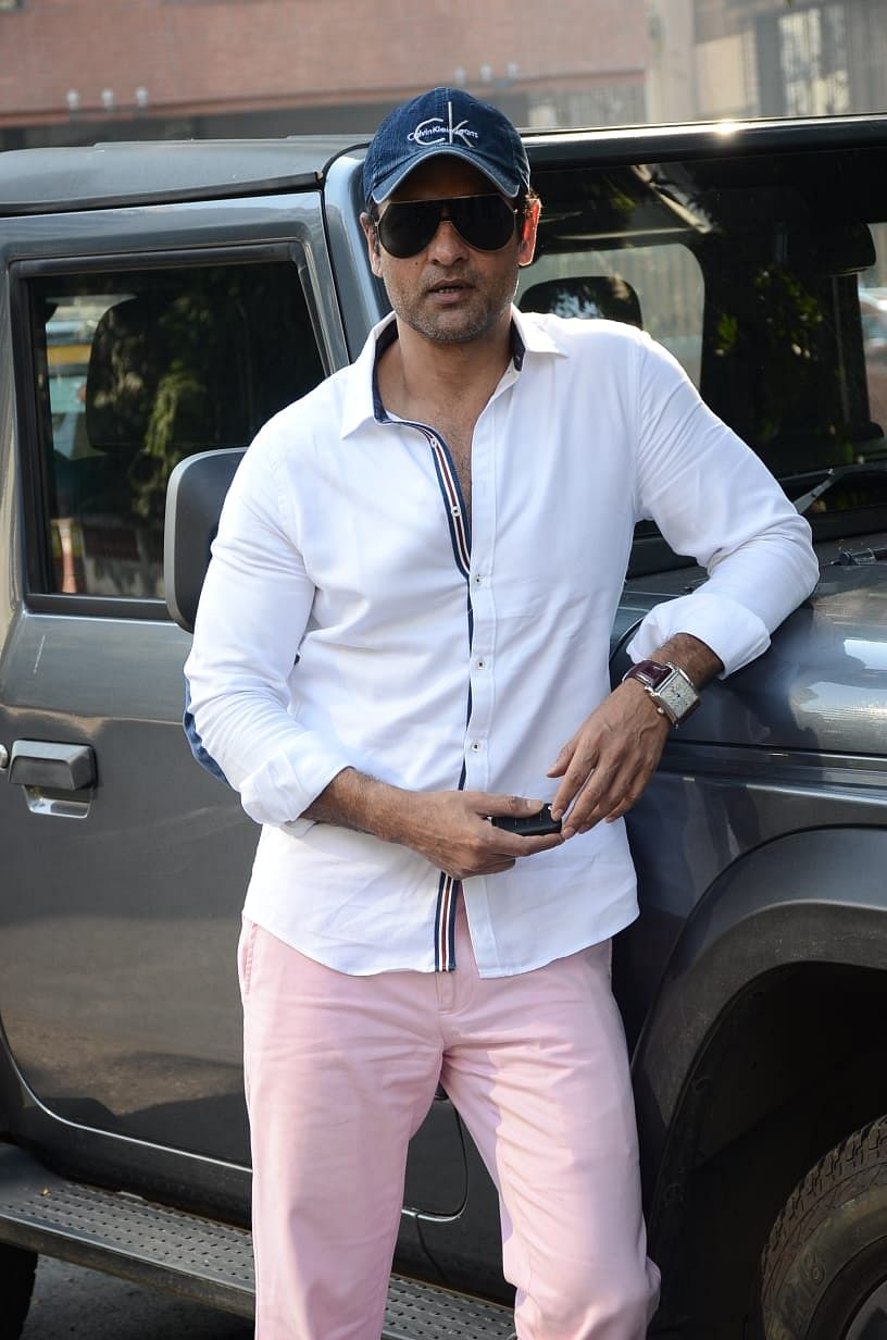 Ronit Roy at a salon in Juhu