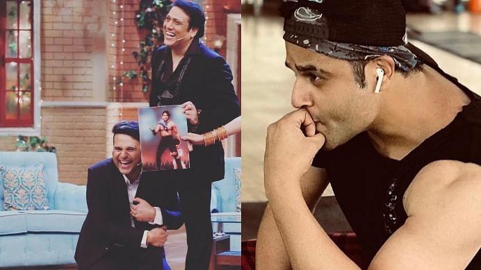 Despite Krushna Abhishek's absence, Govinda takes a jibe at his nephew on 'The Kapil Sharma Show'