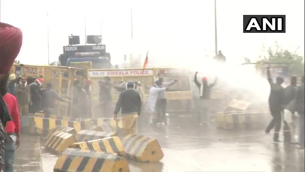Who said what: Priyanka Gandhi, Kejriwal, others slam use of water cannons, tear gas on protesting farmers