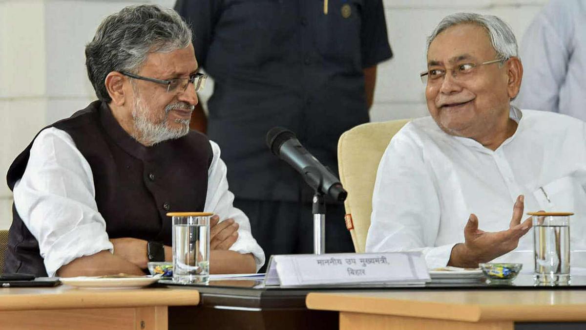 Sushil Kumar Modi and Nitish Kumar