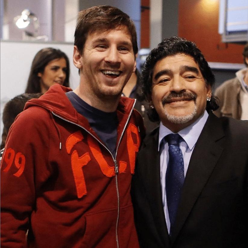 Maradona & Messi: Two symbolic extremes of a football superstar