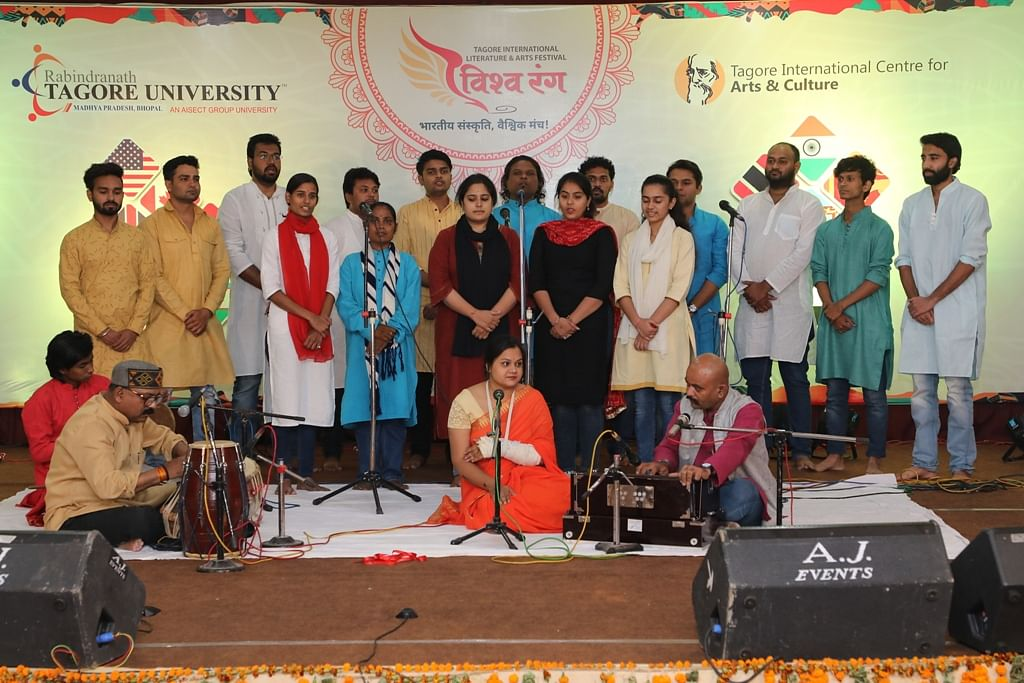 Bhopal: The Vishwarang Art and Literature Festival 2020 kicks off with folk dance and musical performances