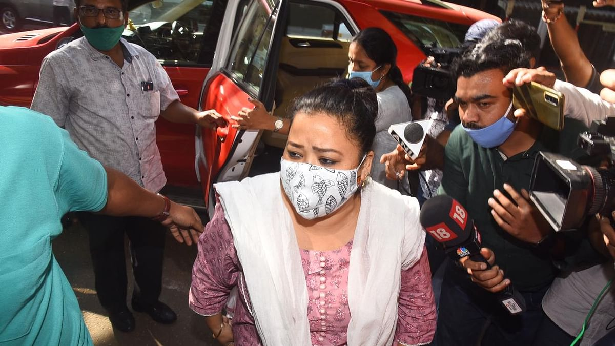 Watch: Comedian Bharti Singh and her husband detained after NCB recovers cannabis at Mumbai residence