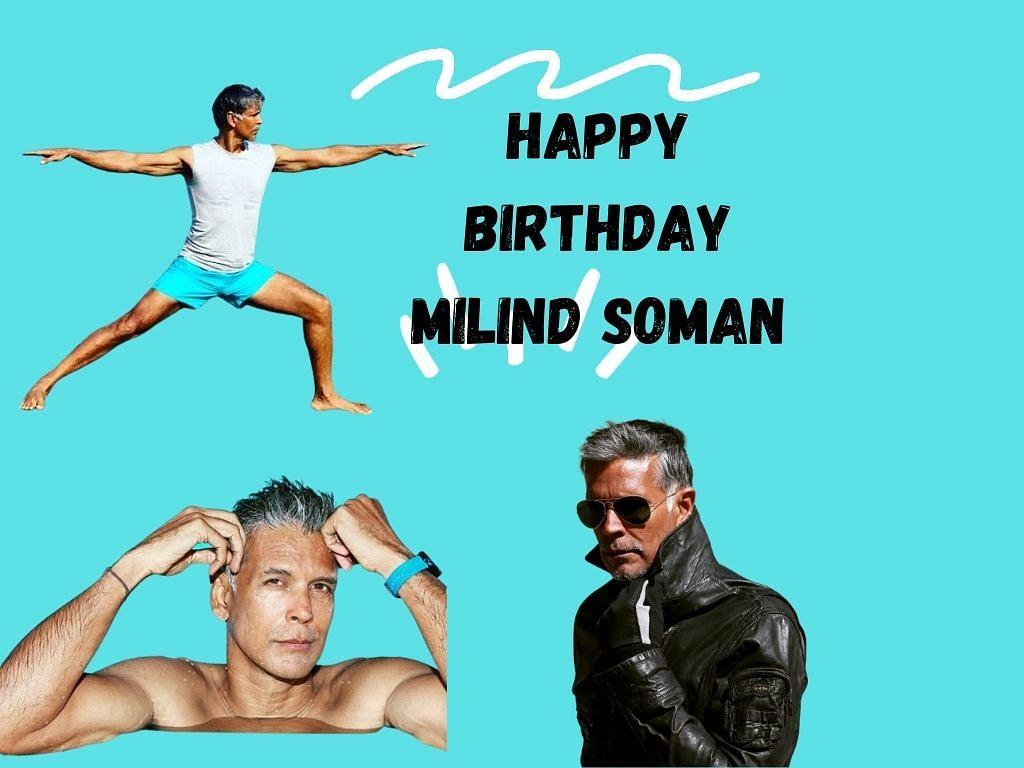 Happy birthday Milind Soman!