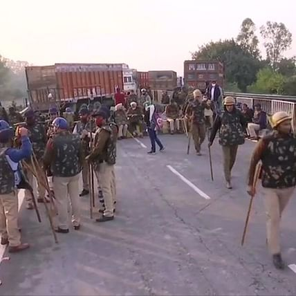 Farmers' Protest in Delhi: Haryana border sealed, metro services curtailed - Here are 10 updates