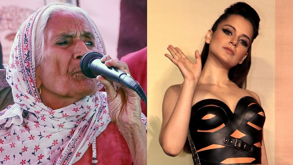 Kangana slammed for sharing 'fake news' on Shaheen Bagh Dadi participating in farmers' protest