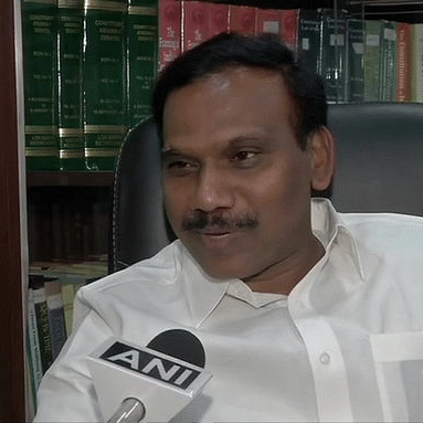 'Intention was not to hurt anyone': DMK's A Raja apologises for remarks against Tamil Nadu CM