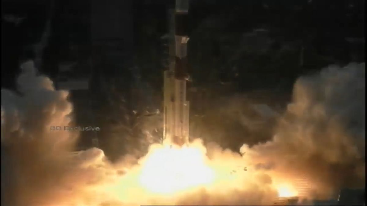 PSLVC49 lifts off successfully from Satish Dhawan Space Centre, Sriharikota