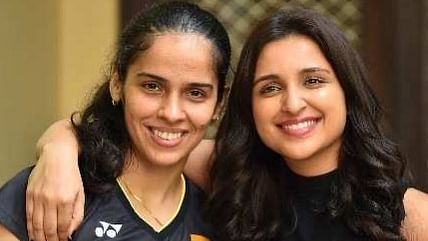 'My lookalike': Saina Nehwal shares first look of her biopic featuring Parineeti Chopra