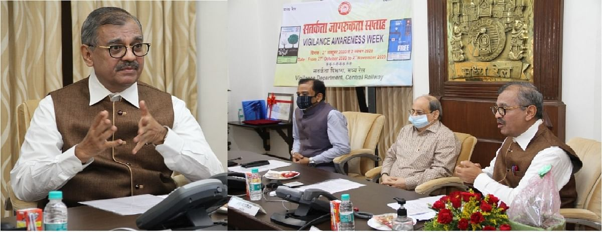 Central Railway Vigilance Awareness Week: Ujjwal Nikam graces occasion as Chief Guest
