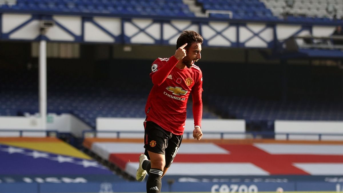 Premier League: Bruno Fernandes shines in Manchester United's 3-1 victory over Everton